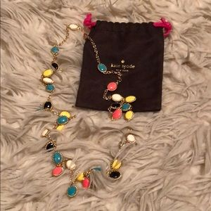 Long colorful Kate Spade necklace
